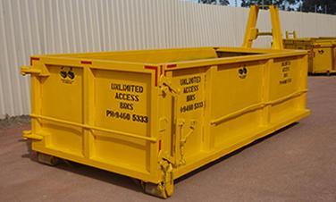Изграждане на локални контейнери за периодично извозване на отпадъци