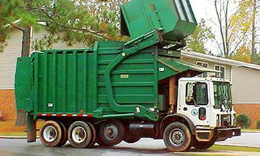 Изкупуване на отпадъци с осигурен транспорт
